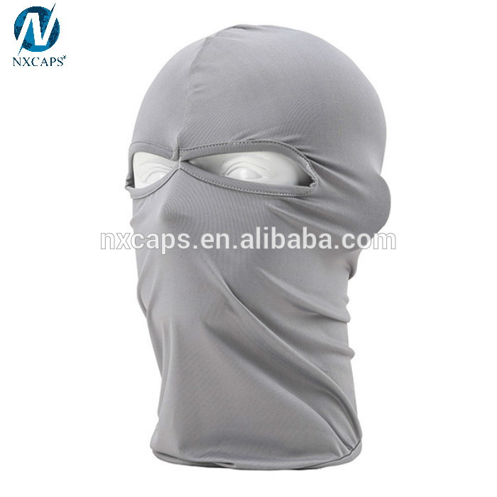 Cold Storage Hijab Caps Balaclava Full Cover 2 Holes Face Mask Head Neck Balaclava
