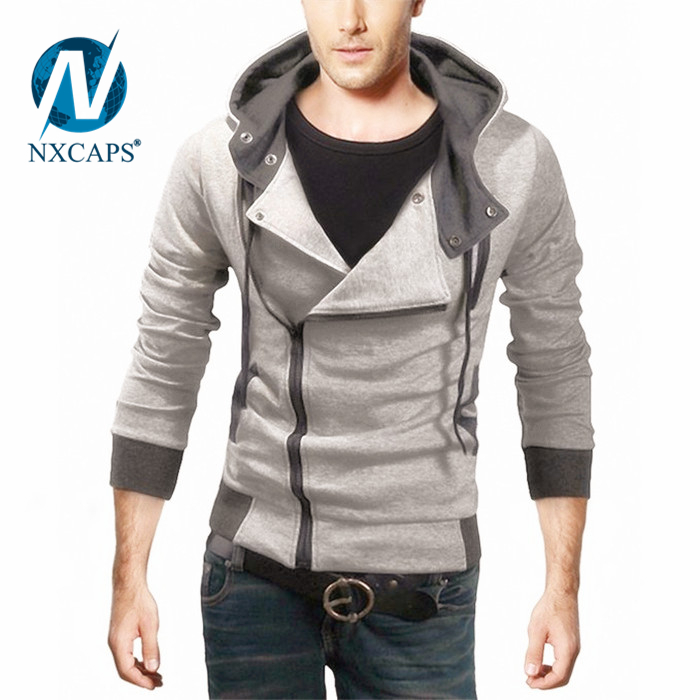 Custom pullover hoodie blank hoody wholesale men zip pullover ...