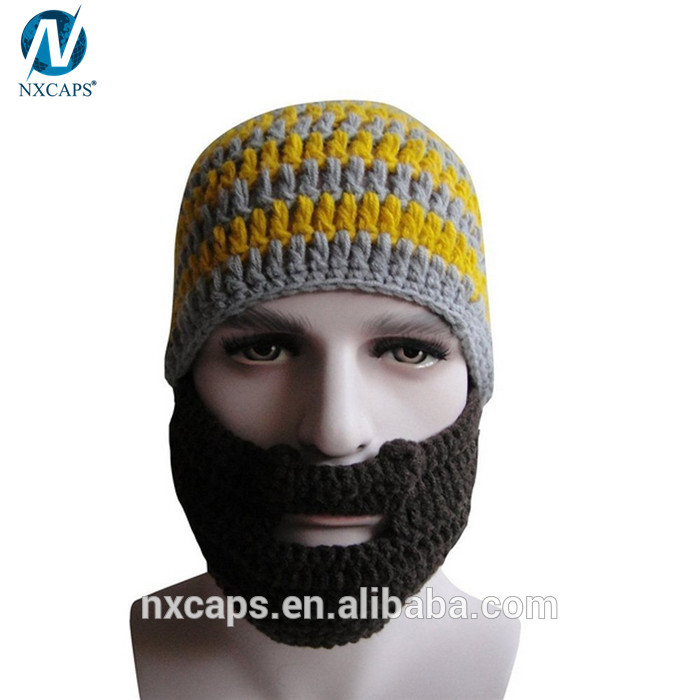Ski Mask Hat Knitting Patternbeard Hat