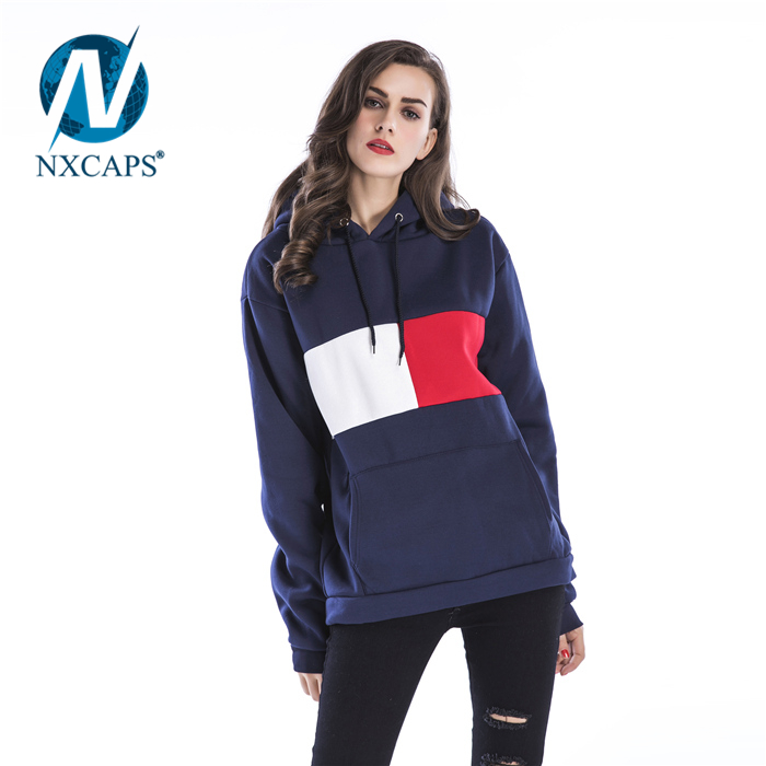 Personalized Thick Winter Coat Wholesale Custom Women Sportswear Screen Print Fitted Hoodie Hoody