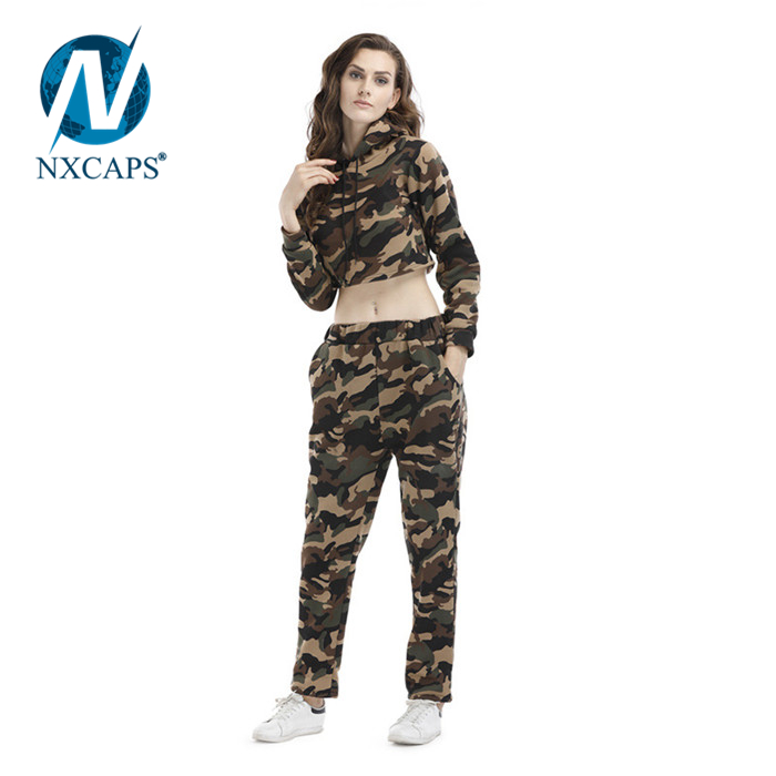9bad4cddd78790 ... Oem Wholesale Camouflage Crop Top Hoodie Sweatshirt Camo Hoodies Hoody  Plain Girls Hoodies Custom ...
