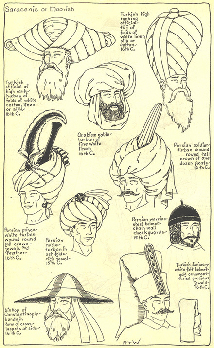 CHAPTER 6 - SARACENIC OR MOORISH - THE TURBAN