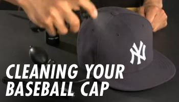 CLEANING YOUR BASEBALL CAP