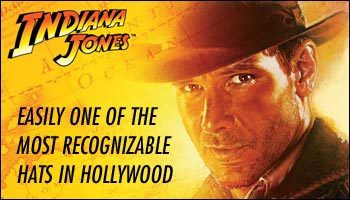 INDIANA JONES FEDORA HAT
