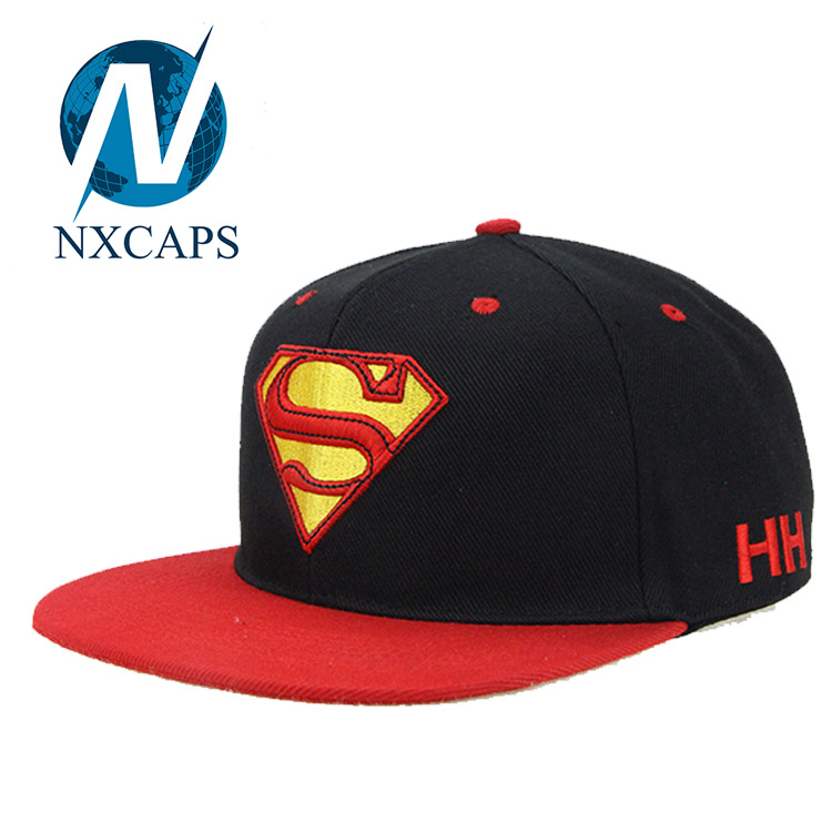 Customized Snapback hat With 3D Embroidered Logo