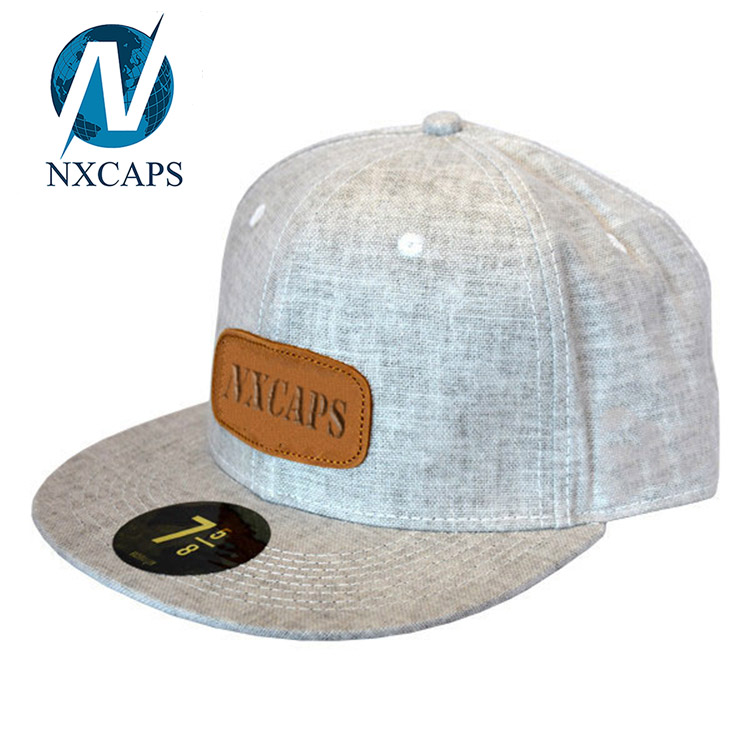 Hip Hop Embroidery Patch Custom 6 Panel Snapbck Hat / Fashion Snapback Hat In Flat Brim New Design