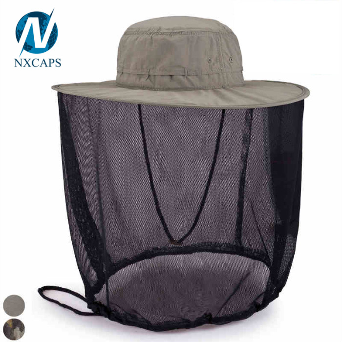 Summer Outdoor Camping Hiking Fishing baseball Cap Neck Face flap Mask Hat wholesale
