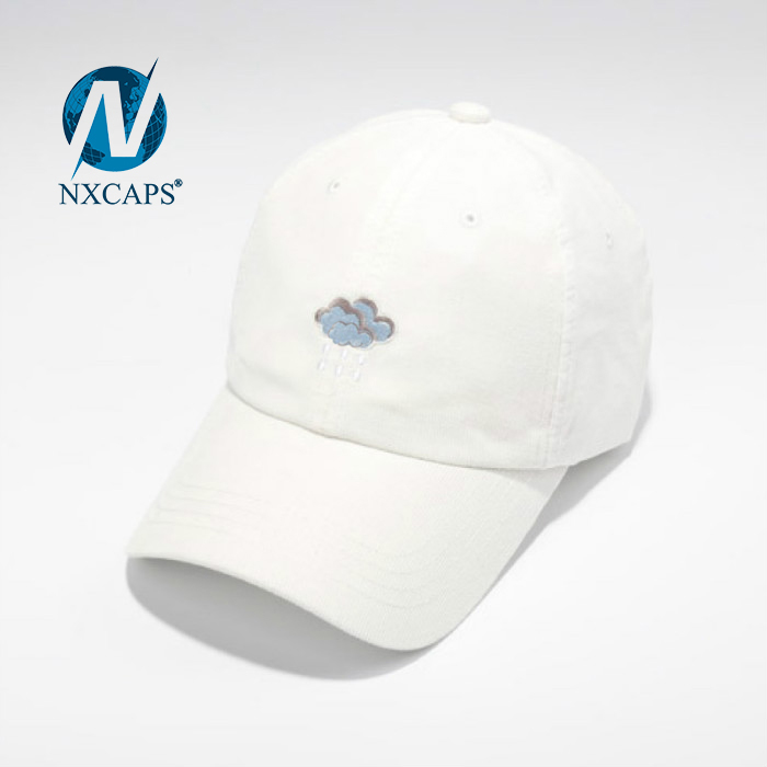 Dad hats embroidery logo cute bear pattern kids cap plain 6 panel curve brim sports outdoor activities advertising hat and caps