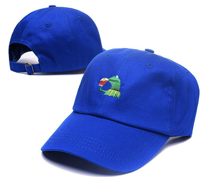 KERMIT Dad hats embroidery logo6 panel dad hats customized embroidered logo baseball caps and hats men cotton sports cap