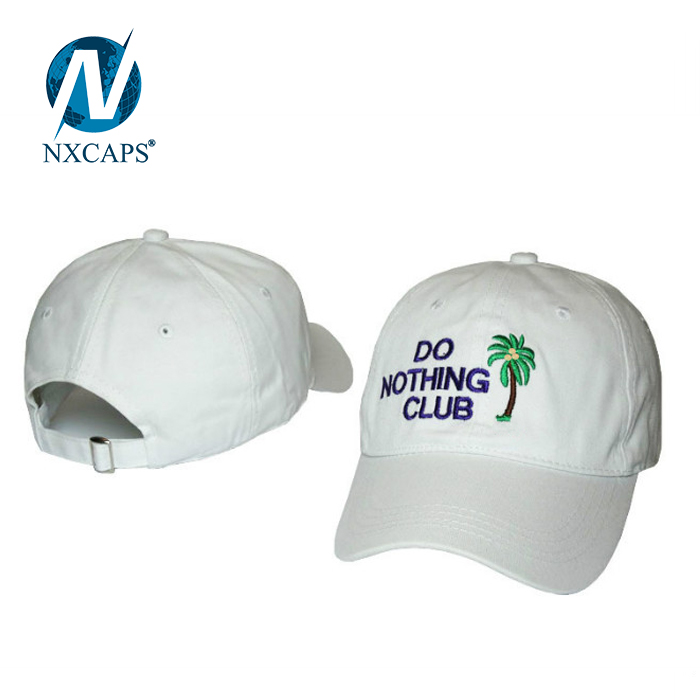 Distressed dad hat Washed baseball cap 6 panel curve plain sport outdoor hats with metal snapback