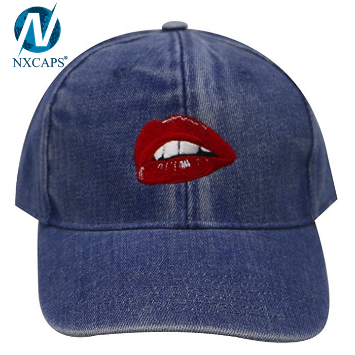 Fashion 6 panel dad hat unstructured dad cap custom embroidered baseball cap