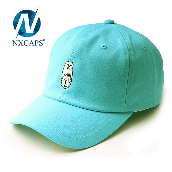 Embroidery dad hat baseball cap sports and leisure hats