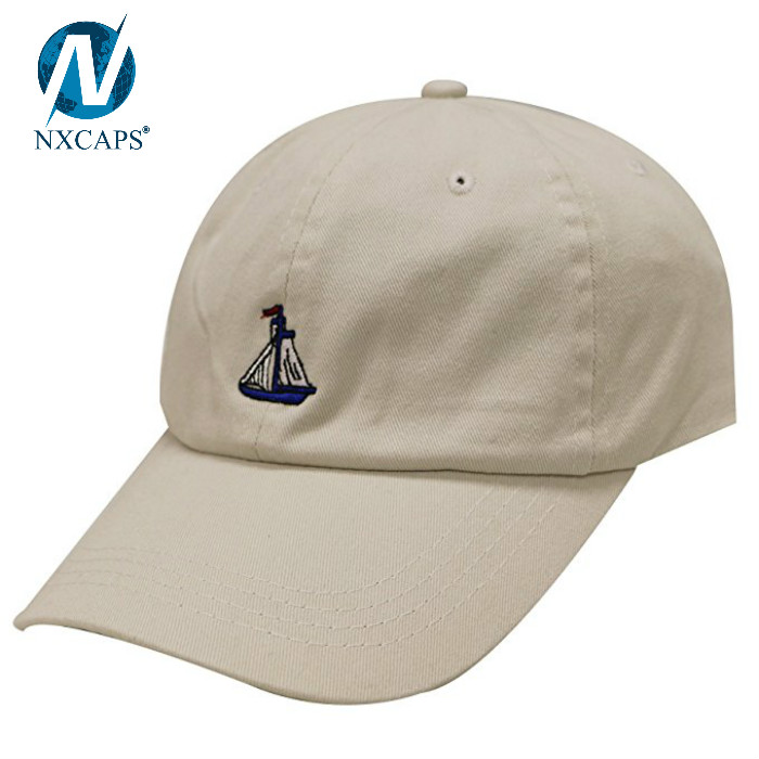 Stylish plain dad hat embroidered baseball cap 6 panel unstructured hat custom