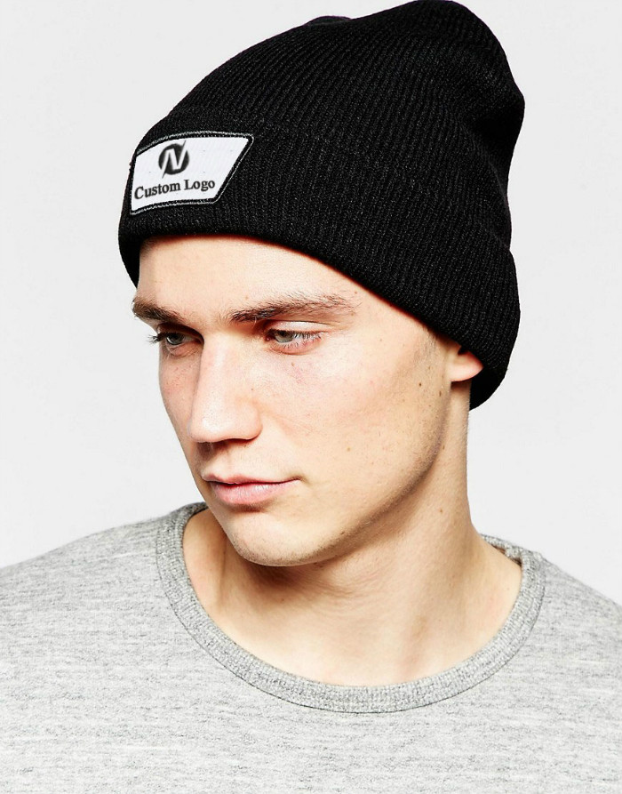 Plain Fisherman Beanie Winter Beanies Men