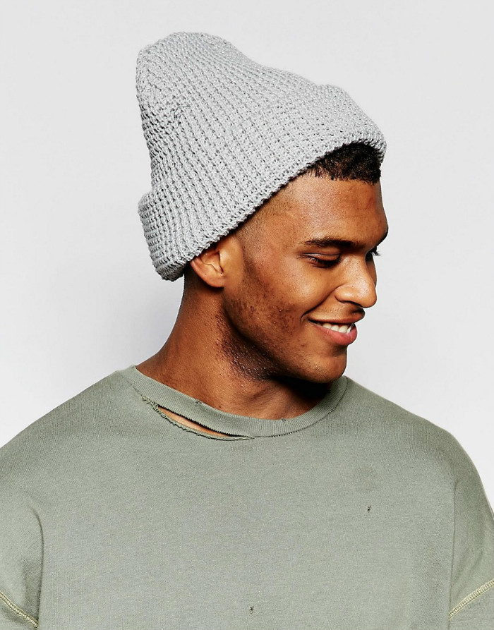Crochet knit beanie hat custom fisherman beanie hats mens wholesale