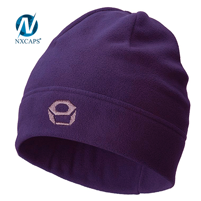Spandex beanie hats blank Beanies hat Wholesale machine knitting beanie with woven label