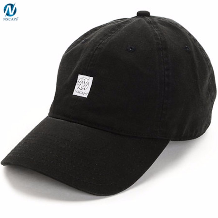 Fashion Dad Hat Custom Embroidery,Customized Logo Dad Hat With Adjustable Leather Strap