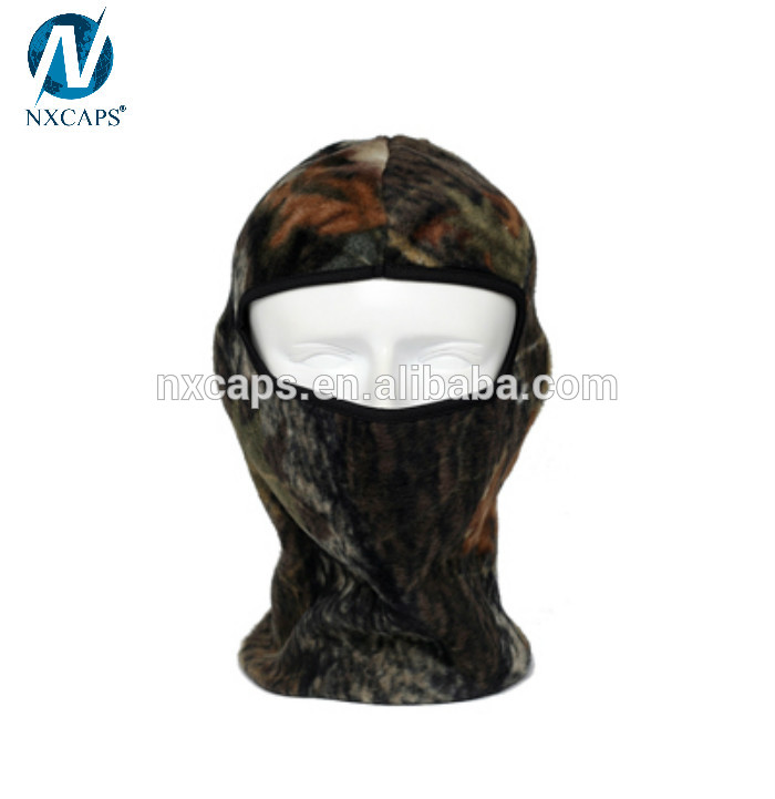 Camouflage Thermal Fleece Balaclava