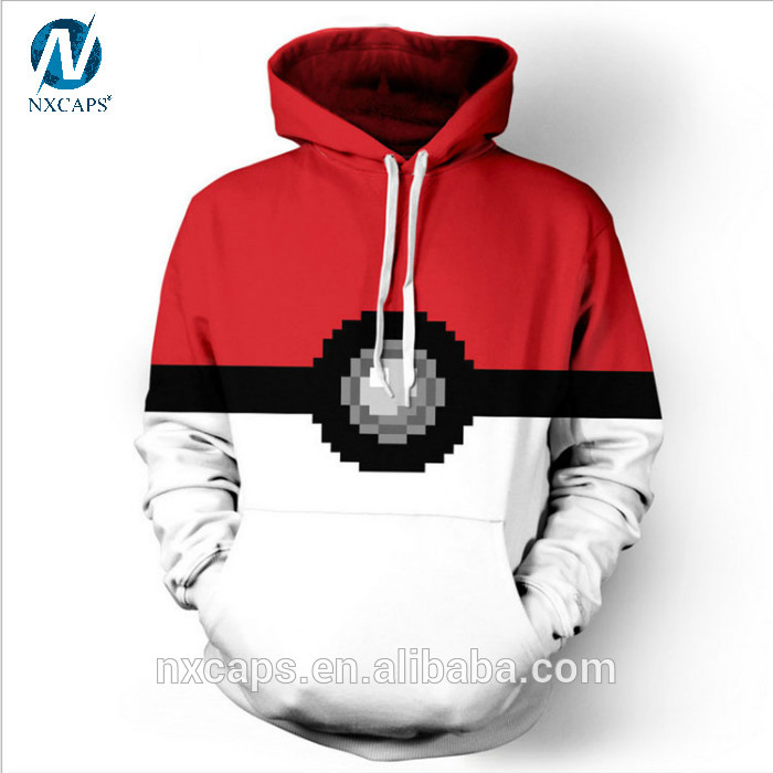 New Pokemon go Hoodies & Sweatshirt Casual Long Sleeve Pullovers Tracksuit