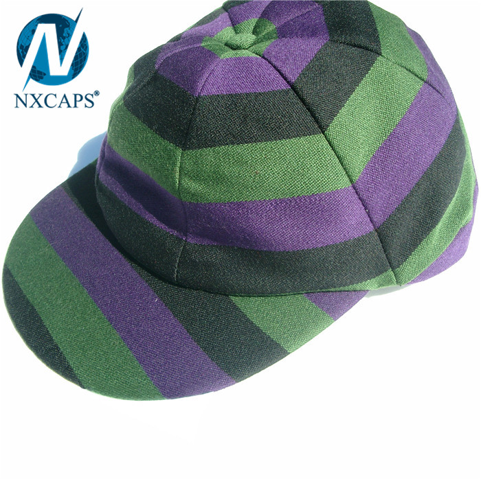 8a97bd786b8 ... Personalized custom baggy cricket caps Customized rasta stripe cricket  hat soft traditional cricket caps ...