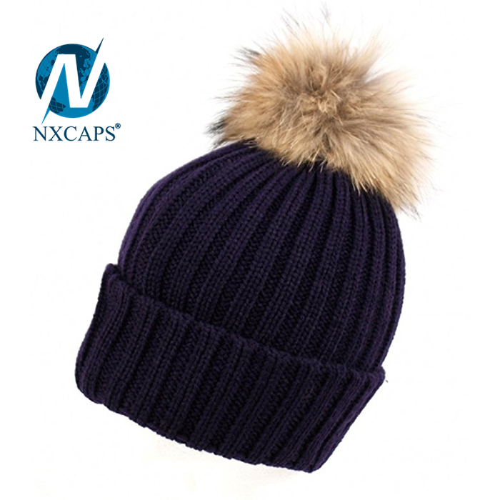 5ef6e831ee4 ... Without logo organic cotton beanies hats 2017 Hot new products colorful  stylish knitted custom pom poms ...
