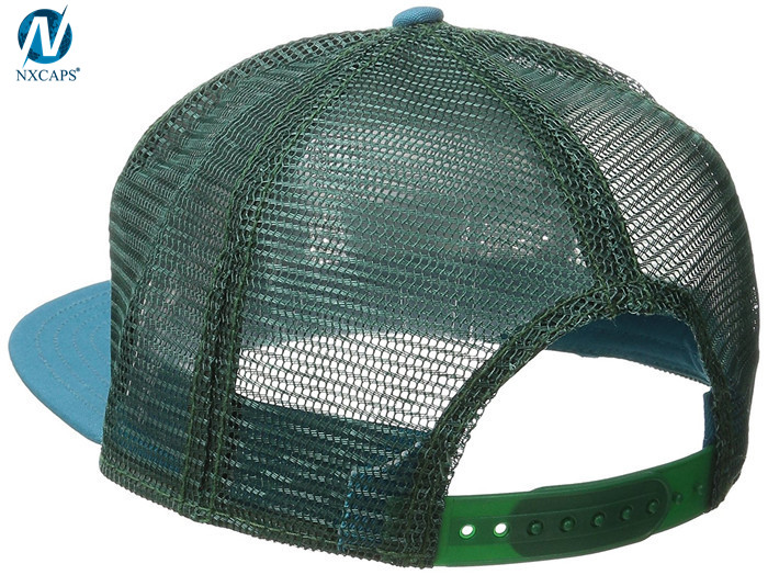 Custom leather logo trucker cap sublimated truck hat 5 panel mesh baseball cap gorra trucker