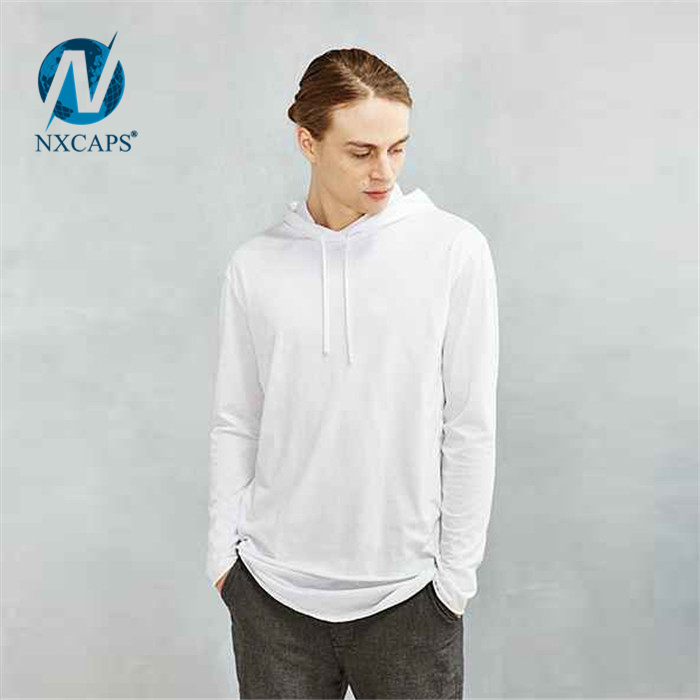 ... Custom drop tail t shirt dry fit long line tee men oversize blank  Double Layer t ... cb09fb808