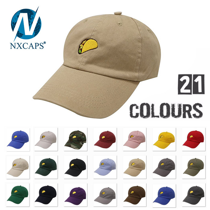 Unstructured Washed Dad Hats custom 3D Embroidery Baseball Cap Indian army cap Plain Distressed dad hat