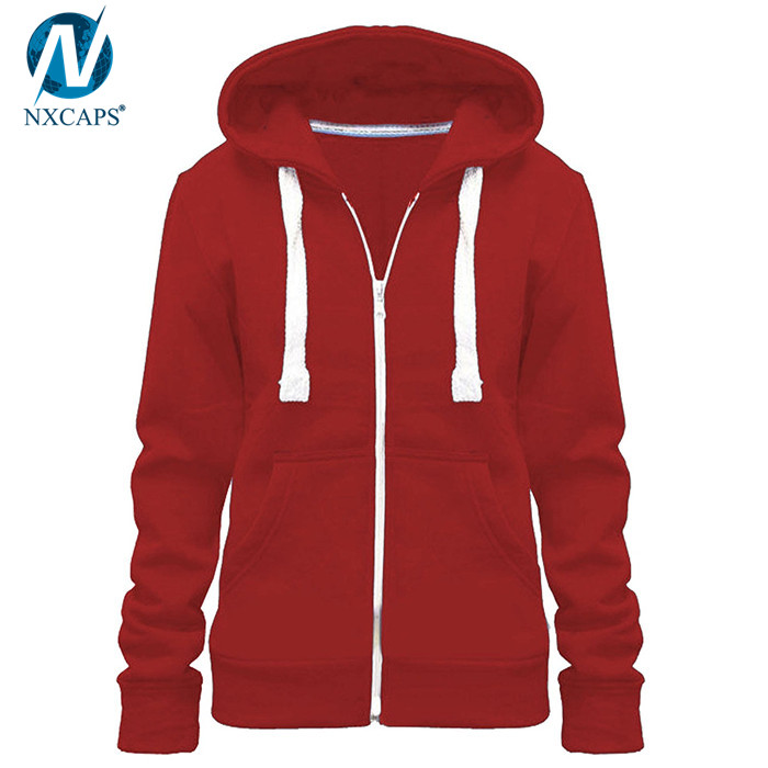 Cotton xxxxl hoodies woman hoodies and sweatshirts women zip hoodie blank hooded sweater