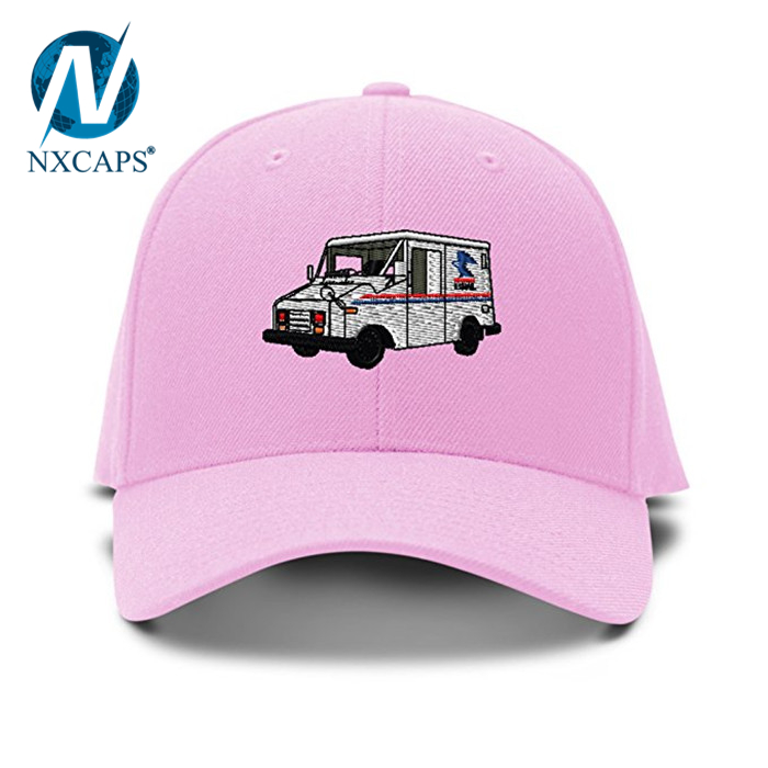 ... Mail Truck Mailman Embroidery cap custom 3D Embroidered pattern dad  hats unisex metal strap adjustable Baseball ... aee8939b93f3