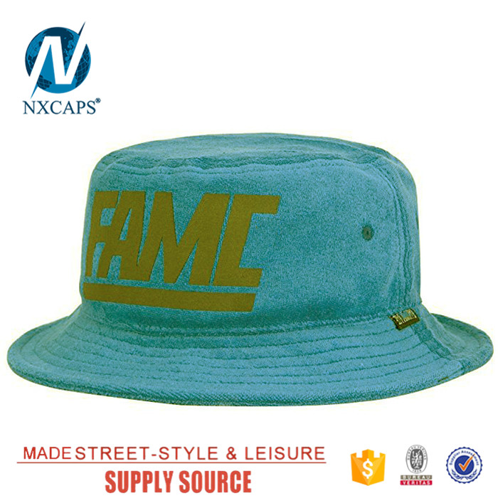 Rollable blank packable plain bucket hat wholesale kids green customized design hat fishing fisherman cap men