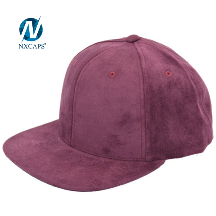 Dad purple hats Unstructured design makes you comfortable suede 6 panel sport plain hatD