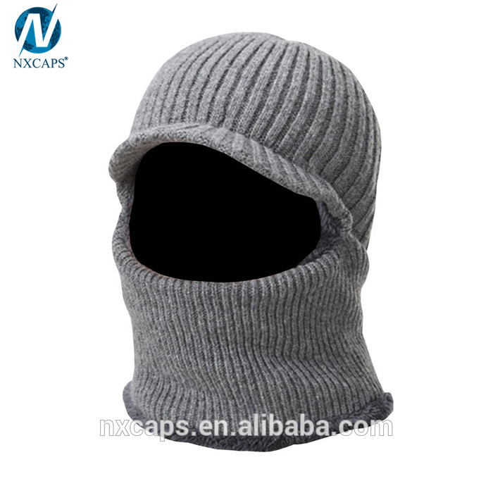 ... Warm cover face hat winter face mask beanie hats custom visor beanie  knitted balaclava hat tuque ... 898358ca49c