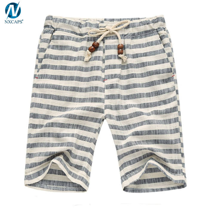 Classic mens shorts casual shorts men fit short with elastic waistband short pants