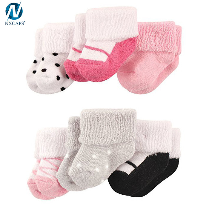 Toddler Socks Custom Soft Warm Knitted New Born Baby Boy Girl Terry Cloth Sock