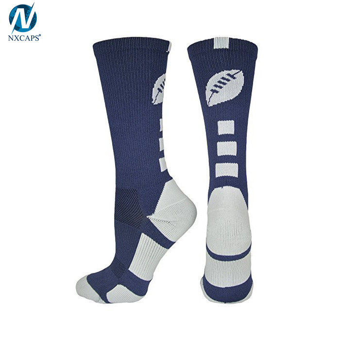 Sport Socks Multi-color Athletic Football Team Compression Basketball Crew Socks With Custom Logo