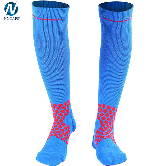 Knitted Compression Socks 20-30 Mmhg Sports Knee High Athletics Travel Medical Sock
