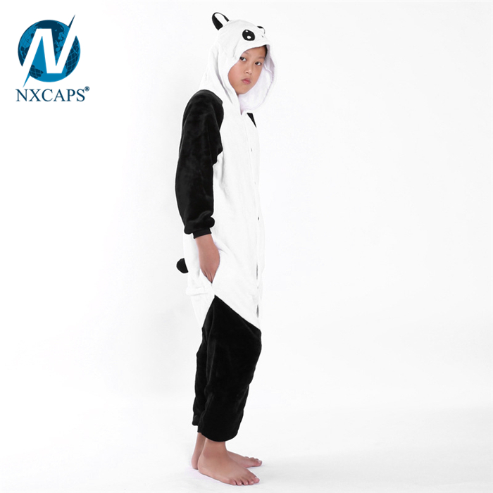 1db2367a9 Anime Cosplay Animal panda adult anime onesie butt flap pajamas ...