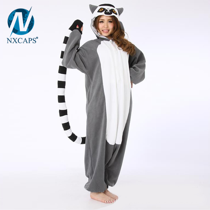 Baby winter romper suit Premium Flannel sleepsuit adult cartoon pajamas animal onesie Halloween Cosplay customes