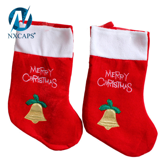 Christmas Santa Claus Big Sock Lovely Snowman Big Size Stock Christmas Decorations