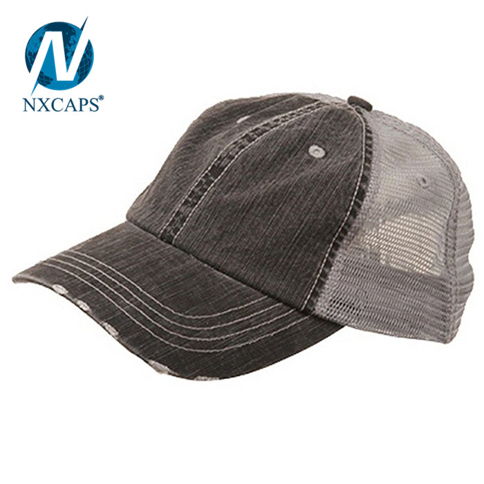 79b0410c5231c ... Custom mesh trucker hat Leather Patch Logo trucker Hats Wholesale Blank  Trucker Hat New Flat Bill ...