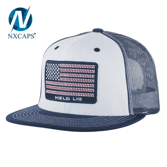 d2259524 Flat embroidery mesh trucker hat yupoong classic camo back hats wholesale  blank closed back closure snapback ...