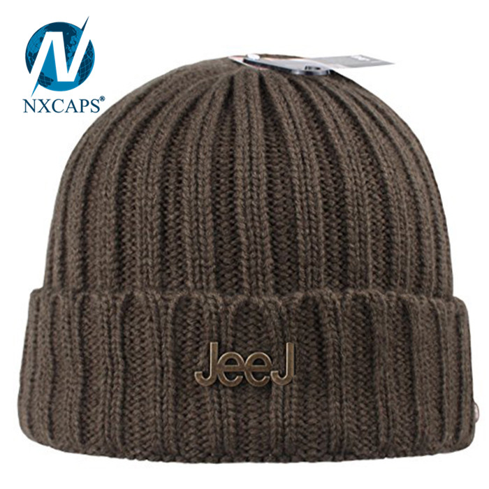 f408bb07 ... Embroidery beanie hat Type A-4 Watch Cap custom soft winter mens slouch  beanie hat ...
