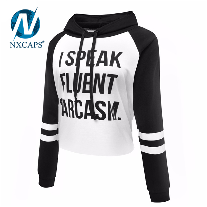 Women's Raglan Custom Colorblock Hoodie Panelled Blank Pullover Mens Hoodies With No Labels Plain Blank Hoody No Patch