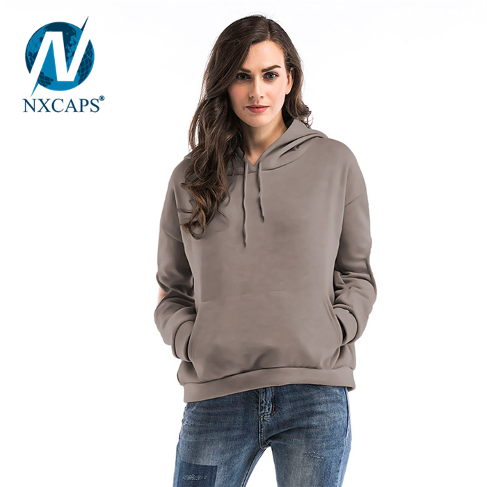 Ladies Tops Latest Design Casual Sweatshirt Long Sleeve Pullover Womens Show The Elbow Hoodie Dress