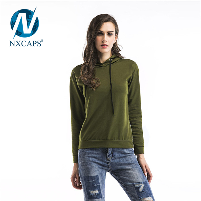 Custom design Women Autumn side zipper Clothing Crop Top Hoodies And Sweatshirts Loose Wholesale Cheap Polyester