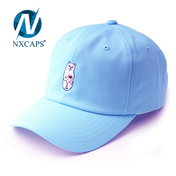 Custom dad hats Premium plain baseball hat 3D embroidery men 6 lines sports caps with adjustable Metal buckle