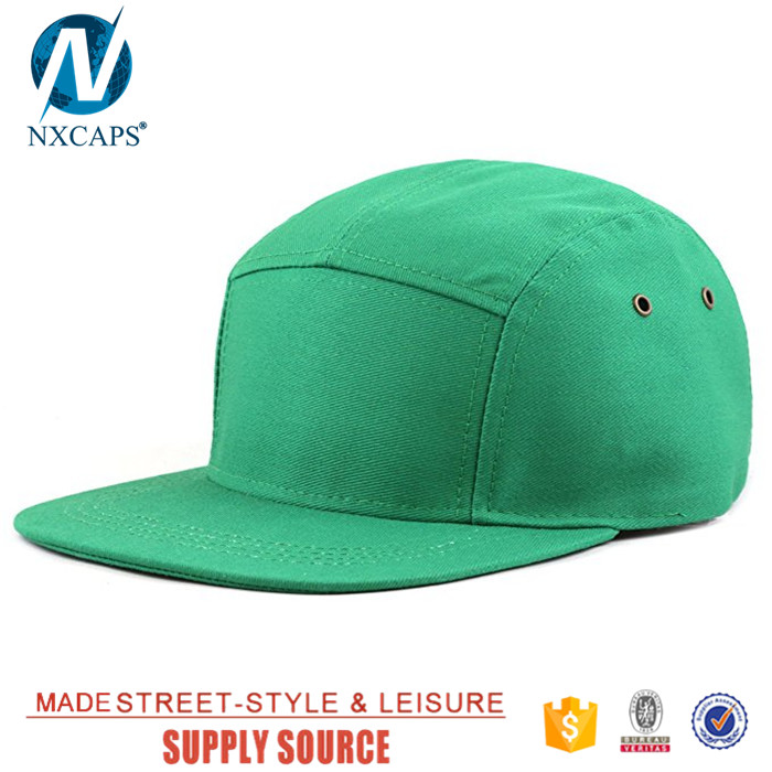 Flat brim biker cap custom 5 panel hat blank baseball snapback hat with leather strap, biker cap,5 panel hat,flat brim cap,nxcaps shenzhen Fashion company