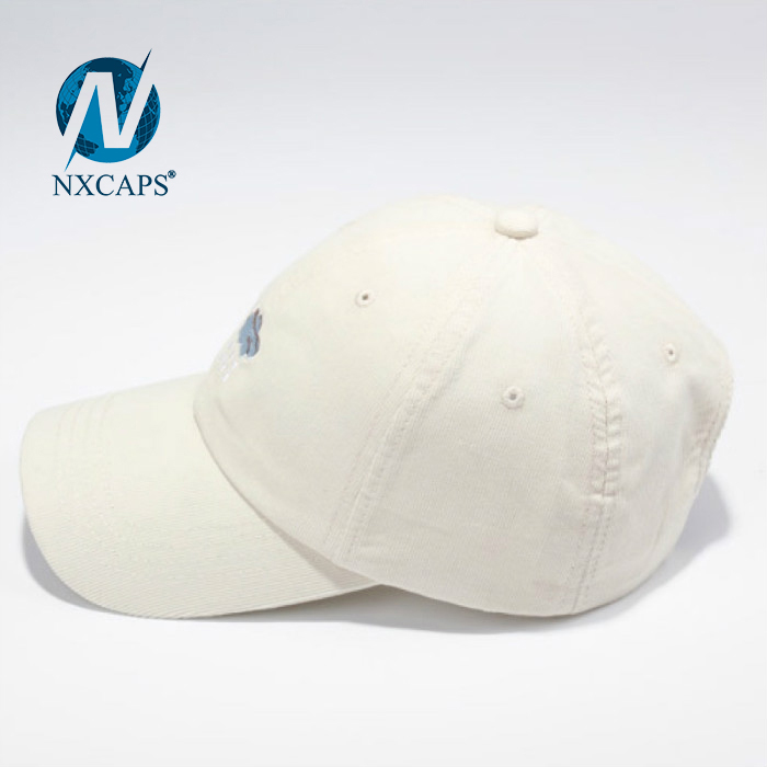 6 panel embroidery dad hat New style customized weather cloud rain patch baseball hat and sport cap with metal strap