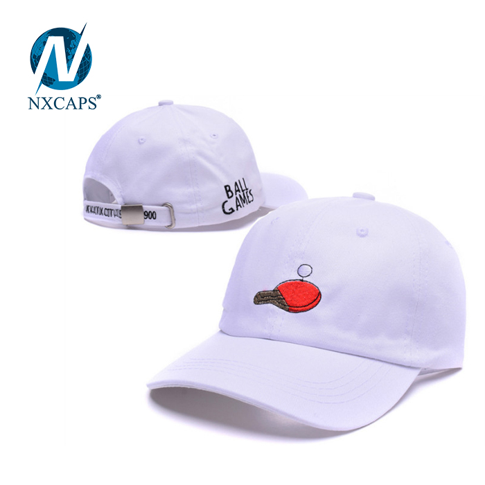 Distressed dad hat Washed baseball cap 6 panel curve plain sport outdoor hats custom logo fishing snapback hats with metal strap